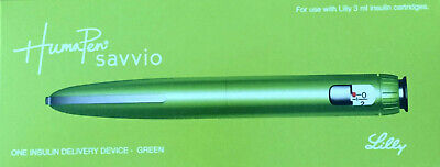 Humapen Savvio insulin delivery device - Green