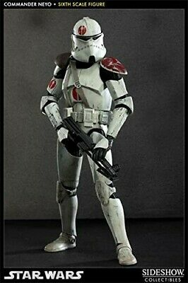 Sideshow Star Wars Commander Neyo 1/6 Hot Toys Scale USED MINT