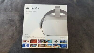 Oculus Go 32GB Virtual Reality Headset - Grey used for 1 week, additional games