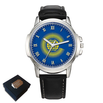 The Commonwealth Flag Gents Mens Wrist Watch  Gift Engraving