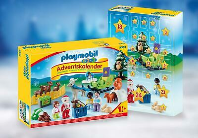 Playmobil 1.2.3 Advent Calendar - Christmas in the Forest 9391   Ages 18 months+