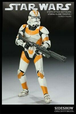 Sideshow Star Wars Utapau 212 st clone trooper 1/6 Scaled like new MINT
