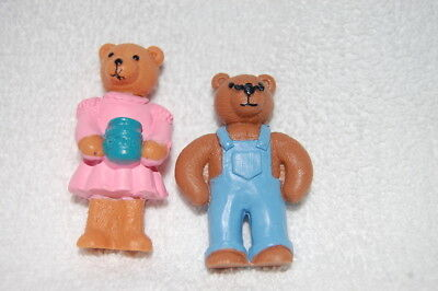 KELLOGG'S – Lot de 2 figurines – 2 ourses – de 1995