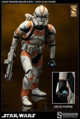 Sideshow Star Wars 212 th Battalion Utapau deluxe clone trooper 1/6 Scale NEW