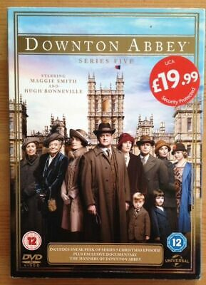 Downton Abbey Series Five DVD New Sealed!
