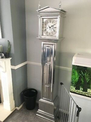 Contemporary Aluminium Longcase Clock