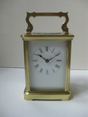 Beautiful Vintage Heavy French Carriage Clock in PERFECT running order.