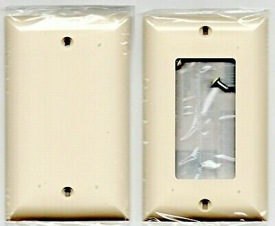 Power Gear Unbreakable Light Almond Switch Cover or Wall Plate