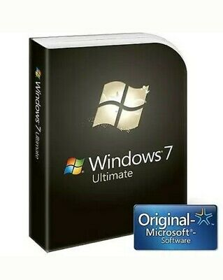 🏅WINDOWS 7 Ultimate 32/64 BIT 🎈Nur DIGITAL DOWNLOAD📧no key