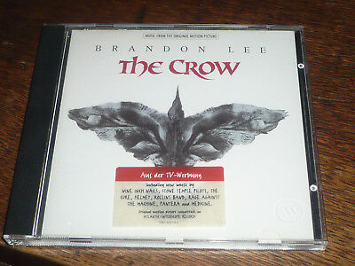 Original motion picture soundtrack THE CROW CD NEW UNSEALED RARE OOP
