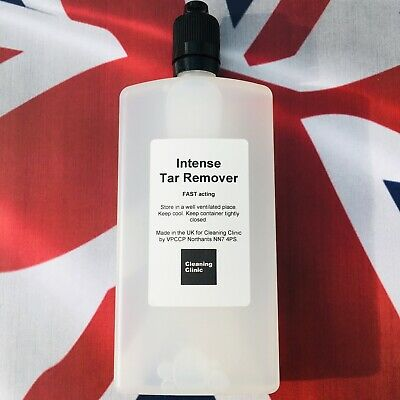 Intensive Ultimate Tar Remover. Great for tar spots bugs marks & discolouration