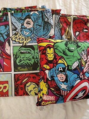 Marvel Bed Cover And Cushion Set