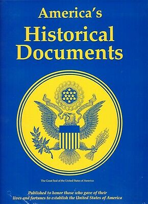 """America's Historical Documents : 27 Parchment Style 9.5 x 12.5"""" Historic Papers"""
