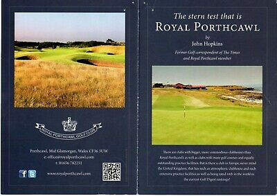 Golf Lovers-Royal Pawthcawl Voucher-Amazing Opportunity:low Start-No Reserve