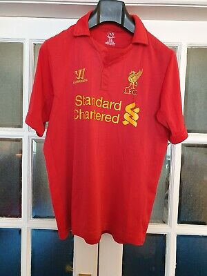Liverpool fc Shirt size M photos show any signs of wear