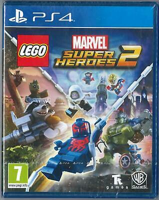 Lego Marvel Super Heroes 2 Sony Ps4 Nuovo Sigillato Pal Ita