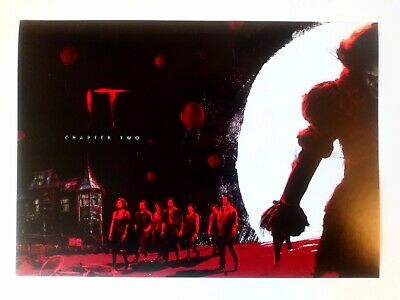 It Chapter Two Poster 1 of 2 Pennywise Bill Skarsgård Stephen King A4