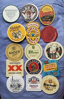 Lot Brewery Beer Coasters Mix of New/Used, Irish German US