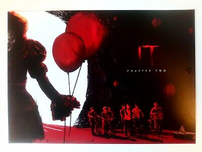 It Chapter Two Poster 2 of 2 Pennywise Bill Skarsgård Stephen King A4