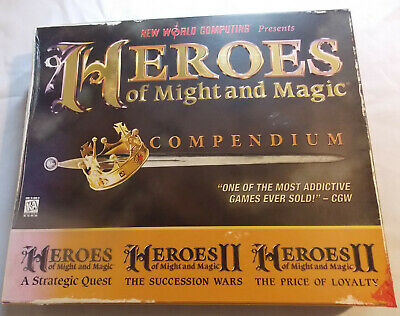 Heroes of Might and Magic Compendium Box Set (PC, 1997)
