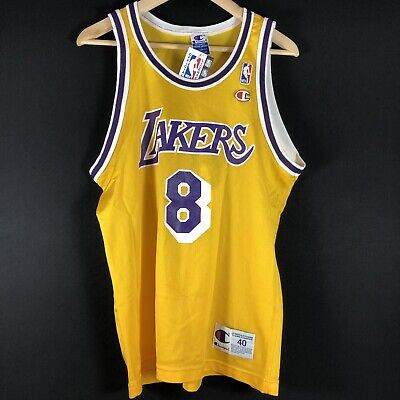 NWT Rookie Champion Kobe Bryant LAKERS M NBA Trikot Basketball Jersey Champion
