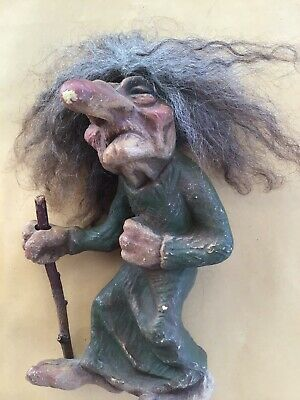NyForm Troll No.113 Retired Elder Female with Walking Stick