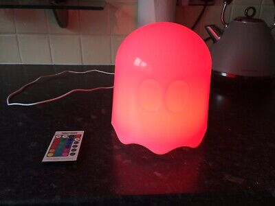Pac-Man Ghost Light / Night Light With Remote Control - Colour Changeable