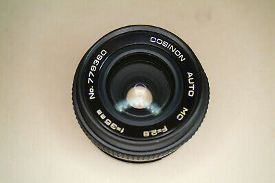 cosinon 35mmf 2.8 lens, lens end endcap, M42 auto/man fit