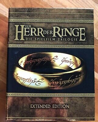 Herr Der Ringe Trilogie - Extended Edition - Blu-Ray Box - Top Zustand