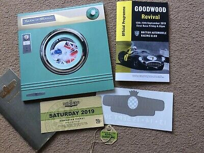 Goodwood Revival Programme and Catalogue 2019