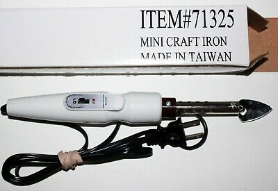Mini Iron Craft Projects Quilting Sewing Pressing Mini-Fer Quilter's New In Box