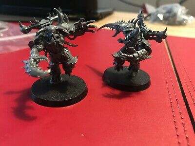 Warhammer 40k Chaos Space Marine Greater Possessed (Shadowspear) x2
