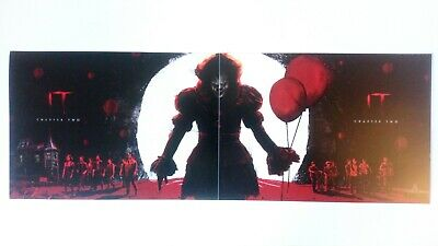 It Chapter Two Poster Set of 2 Pennywise Bill Skarsgård Stephen King A4