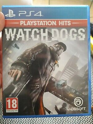 PlayStation 4 Watch Dogs Game Never Been Used