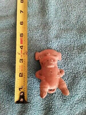 Pre Columbian Pottery Whistle Figure