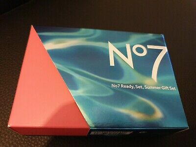 Boots No7  Ready Set Summer Gift Set RRP £29 - Sealed Unopened
