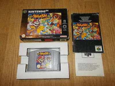 Super Smash Bros - Nintendo 64 Pal Completo