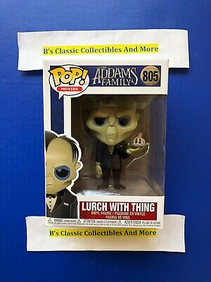 Lurch With Thing POP Vinyl Figure #805 Funko The Addams Family Horror New