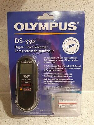 Olympus DS-330 Digital Voice Recorder sealed NEW