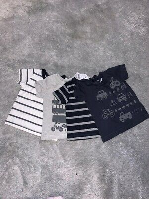 BNWT NEXT Baby Boy 3-6 Months Top Bundle