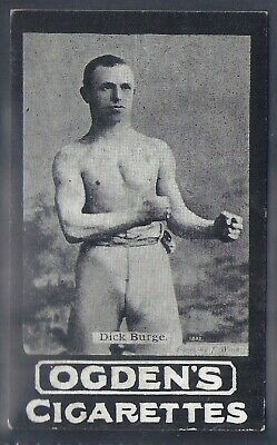 Ogdens Tabs-Series A-#A085- Boxing - Dick Burge