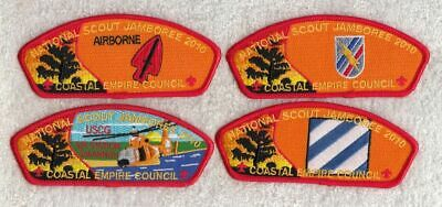 A9323 24th WORLD SCOUT JAMBOREE 2019 -COASTAL EMPIRE COUNCIL BSA NJ 2010 JSP SET