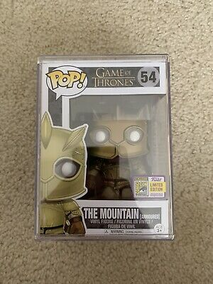 Funko Pop! Game Of Thrones The Mountain (gold Armor) 54 - 2018 SDCC Exclusive