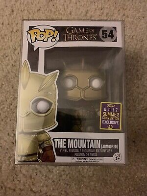 Funko POP Game of Thrones The Mountain (Armoured) 2017 SDCC Shared Exclusive #54