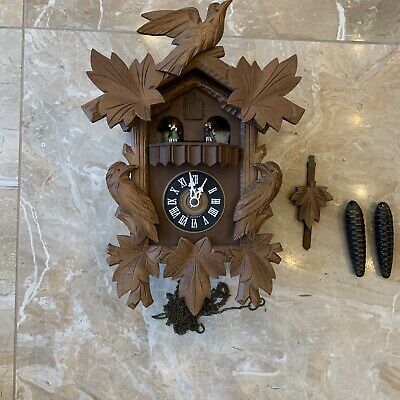 Large Black Forest German Herbert Herr Cuckoo Clock