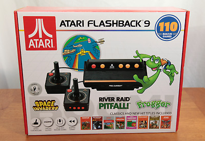 NEW Atari Flashback 9 AR3050 HDMI Game Consoles with 2-Wired Joysticks