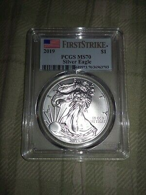 2019 United States American silver eagle PCGS ms70