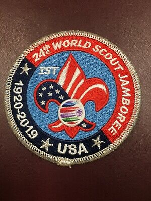 24th World Boy Scout Jamboree 2019 IST Staff Patch Badge USA Contingent WSJ BSA