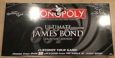 Hasbro James Bond 007 Ultimate Collectors  edition Monopoly game 2008- sealed