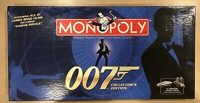 Hasbro James Bond 007 Collectors edition Monopoly game 2006 sealed contents